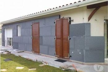 Isoler ses murs extérieurs avec le polystyrène